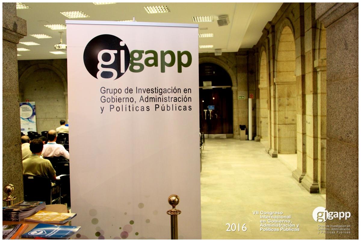 El VII Congreso GIGAPP se celebró en las antiguas instalaciones del Ayuntamiento de Madrid.