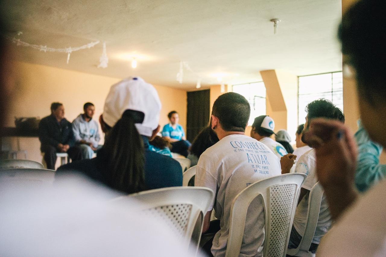 En el Día para la Erradicación de la Pobreza representantes de asentamientos informales estuvieron presente en la inauguración de Hábitat III.
