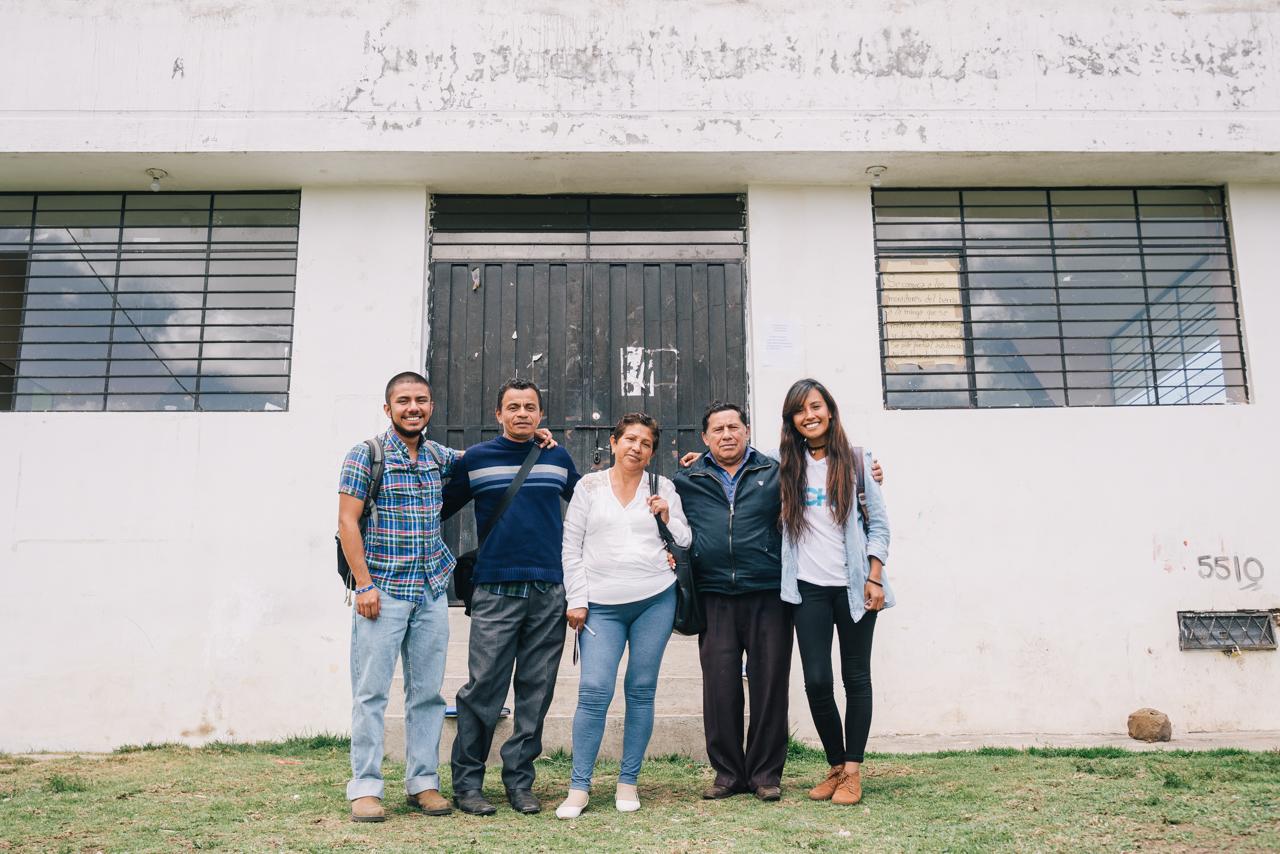 La principal razón de ser de TECHO es superar la situación de pobreza que viven miles de personas en los asentamientos precarios, a través de la acción conjunta de sus pobladores y jóvenes voluntarios.