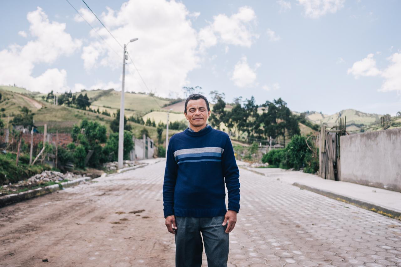 """El Programa Iberoamericano TECHO estuvo presente en Quito, tanto en actos oficiales de Hábitat-III, como en """"terreno""""."""