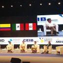 El Encuentro Empresarial reunió en un mismo coloquio a los Presidentes de Colombia, Chile, México, Perú y Portugal