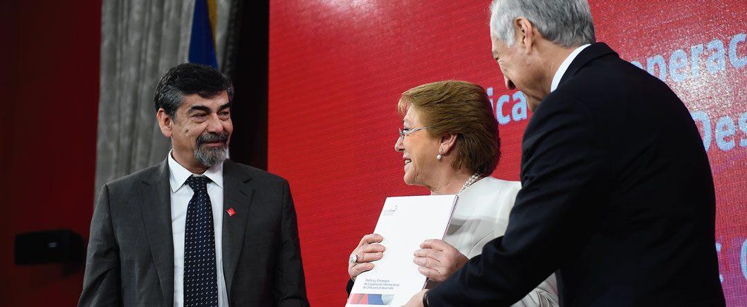 """""""Chile Coopera"""" establece las bases del presente y el futuro"""
