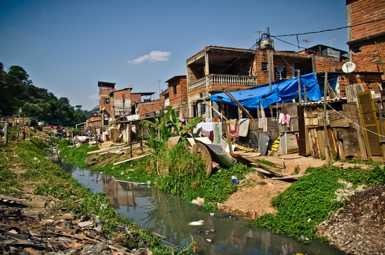 En Brasil, las favelas ocupan un importante espacio del territorio. Foto: TECHO.