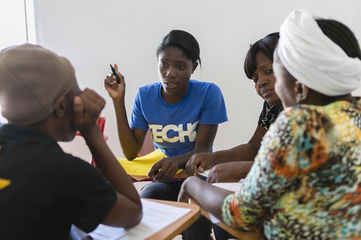 Además de Iberoamérica, TECHO ha centrado su actividad en Haití. Foto: TECHO.
