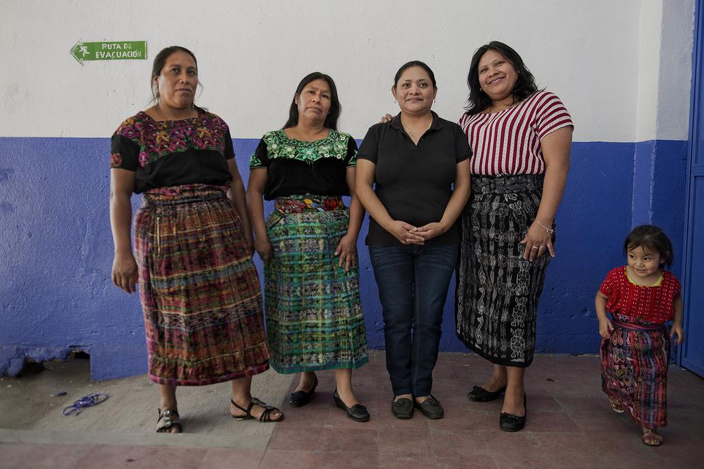 Las Poderosas es un proyecto que cuenta con la colaboración de la cooperación española. Reportaje Gráfico: Miguel Lizana, AECID.
