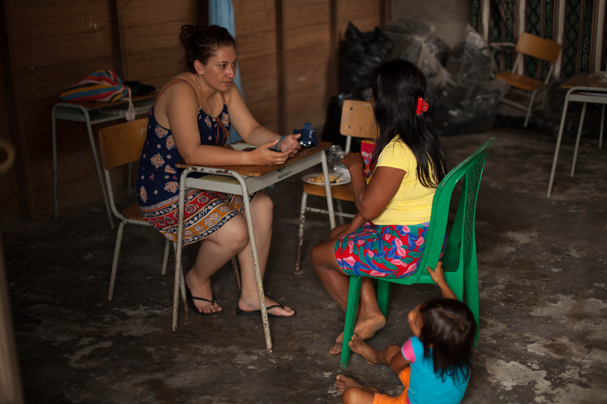 En Jurubirá, en el municipio de Nuquí, su población responde con sonrisas a quienes ponen un pie en su tierra. Foto: APC Colombia.