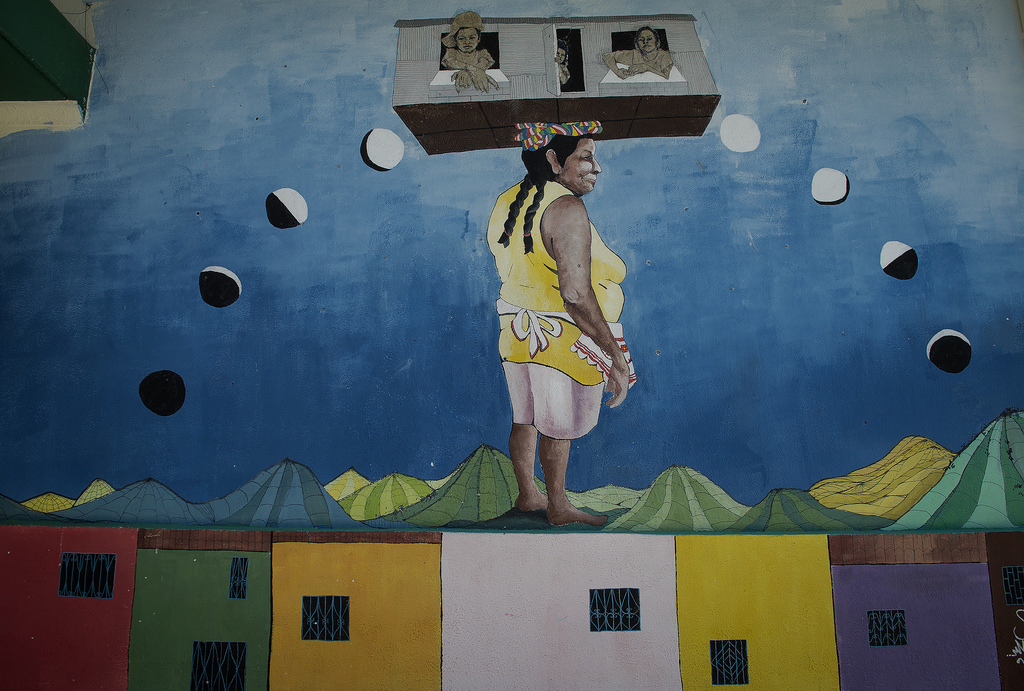 La Casa Tomada funciona de forma auto-gestionada y tiene como fin transformar la realidad. Reportaje fotográfico: Miguel Lizana/AECID.