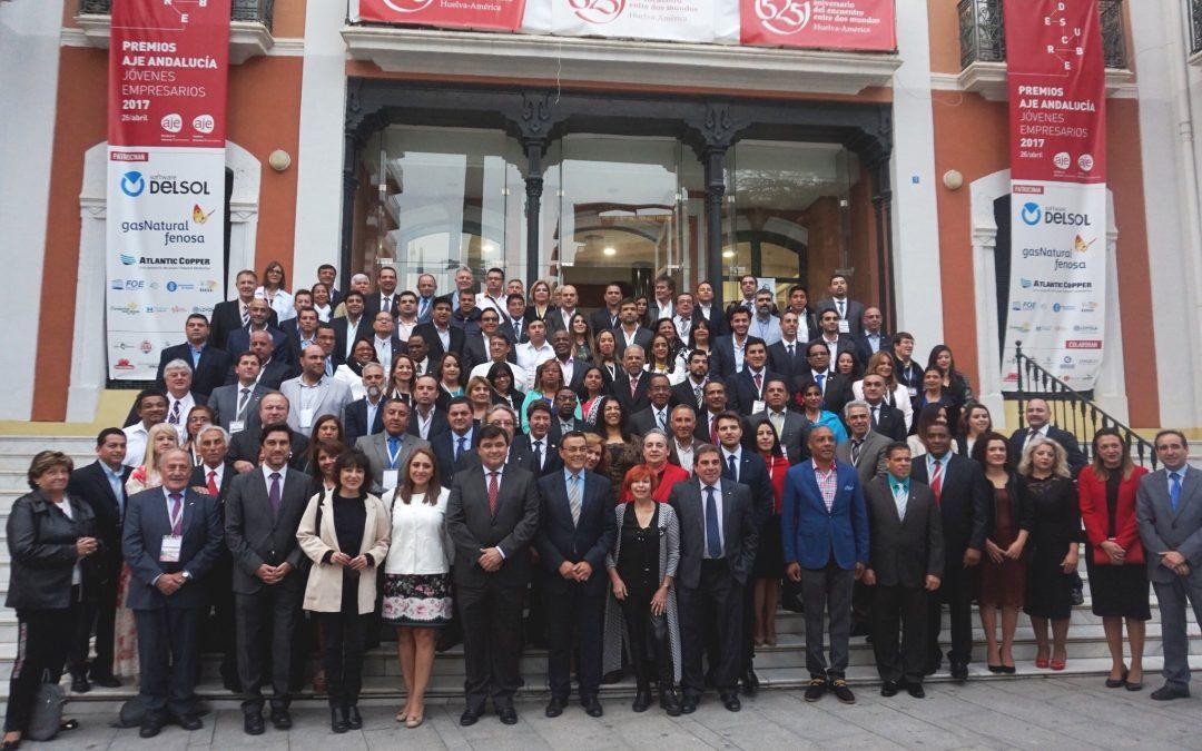 Representantes municipales de toda la región se encuentran en Huelva
