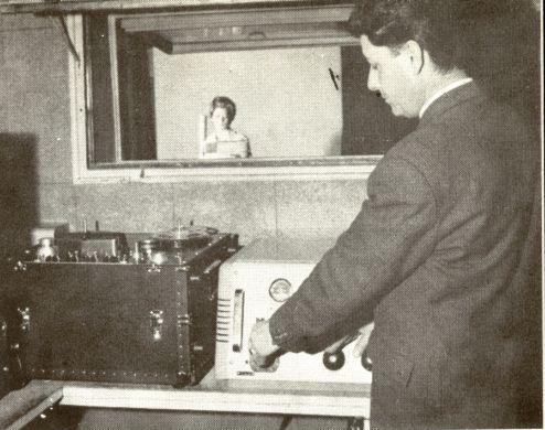 Estudio de grabación del Instituto de Cultura Hispánica