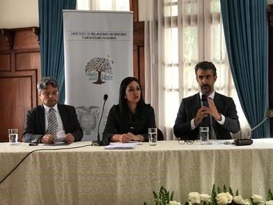 Martin Rivero, coordinador de Cohesión Social y Cooperación Sur-Sur de SEGIB participa en la I IFeria de Cooperación Internacional de Ecuador