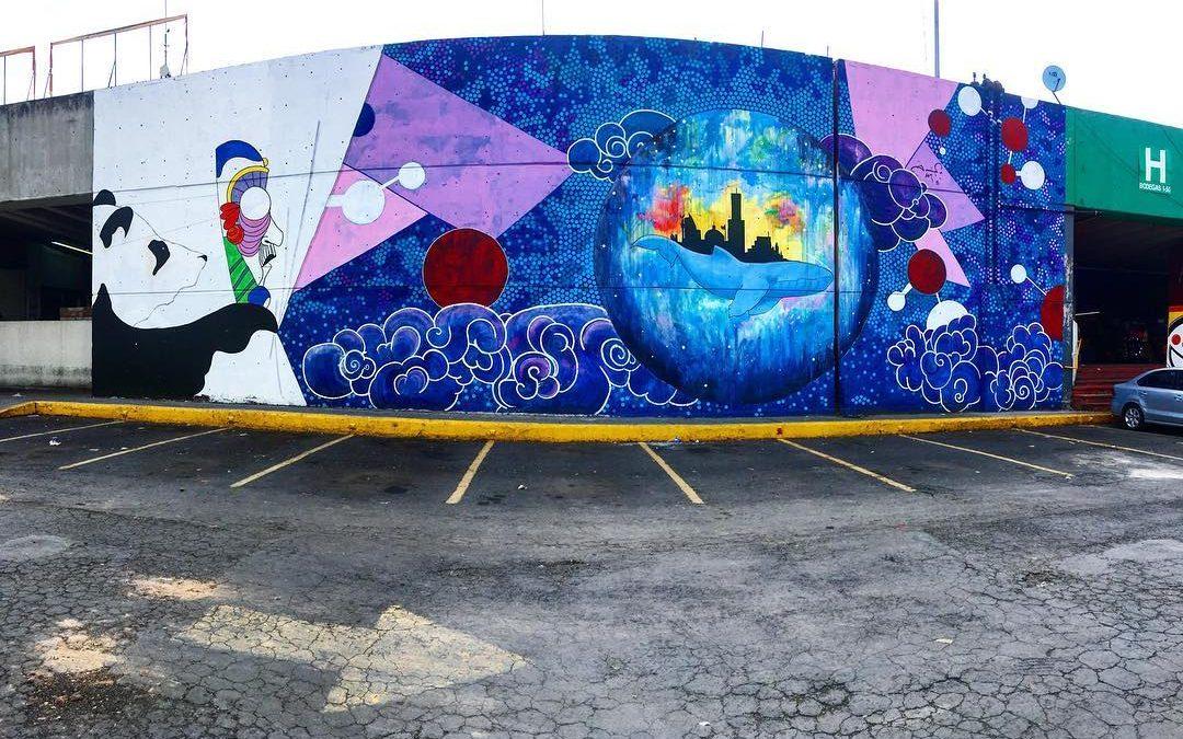 El artista mexicano que pinta los Objetivos de Desarrollo Sostenible