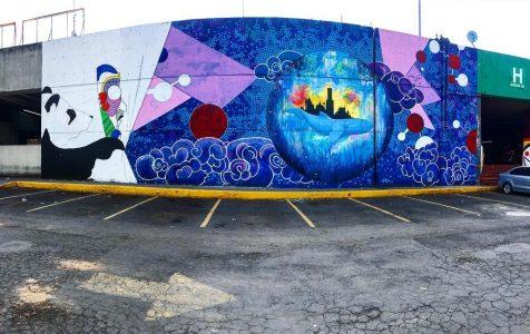 Mural ODS por Adrián Rodríguez Torres