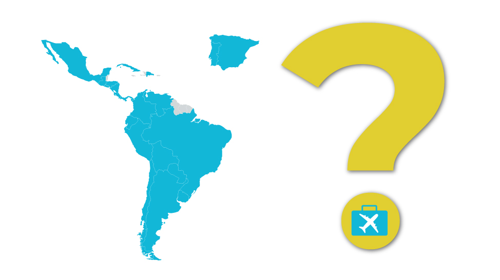 El dato: ¿cuáles son los países iberoamericanos más visitados por turistas?