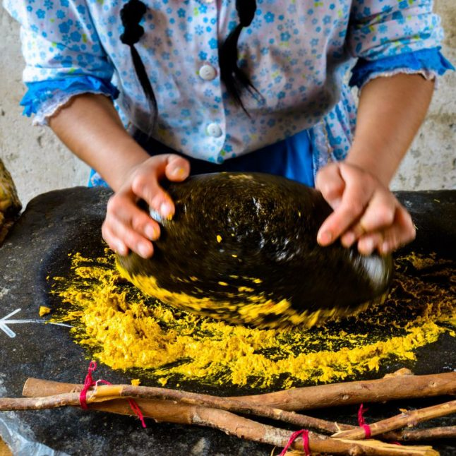 Cocinar con piedra