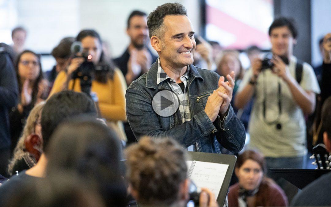 """Jorge Drexler, Embajador Iberoamericano de la Cultura: """"Una orquesta es una garantía de empatía"""""""