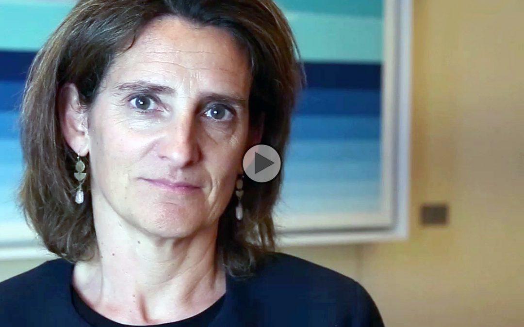 """Teresa Ribera, ministra para la Transición Ecológica de España: """"América Latina es fundamental en la lucha contra el cambio climático»"""