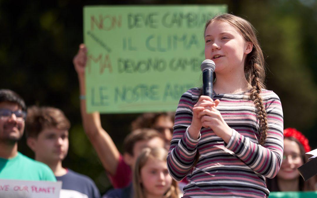 El efecto Thunberg: los jóvenes se vuelven defensores del medioambiente