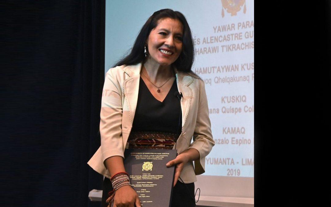 Una tesis doctoral es escrita en idioma quechua, se lee por primera vez en la universidad peruana