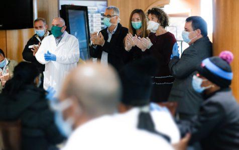 Delegación de sanitarios cubanos en Andorra