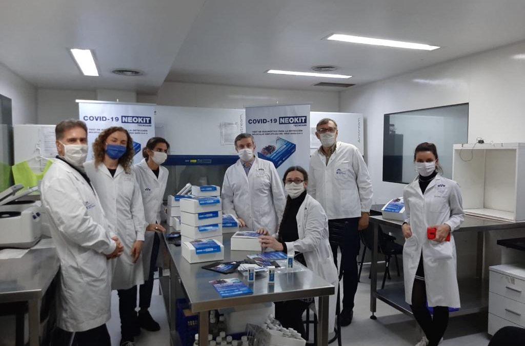 Neokit-Covid-19, el test rápido creado por científicos argentinos