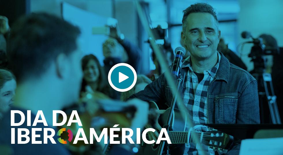 Qual é a sua luz do outro lado do rio? Celebrando a Ibero-América com Jorge Drexler e a Orquestra Virtual