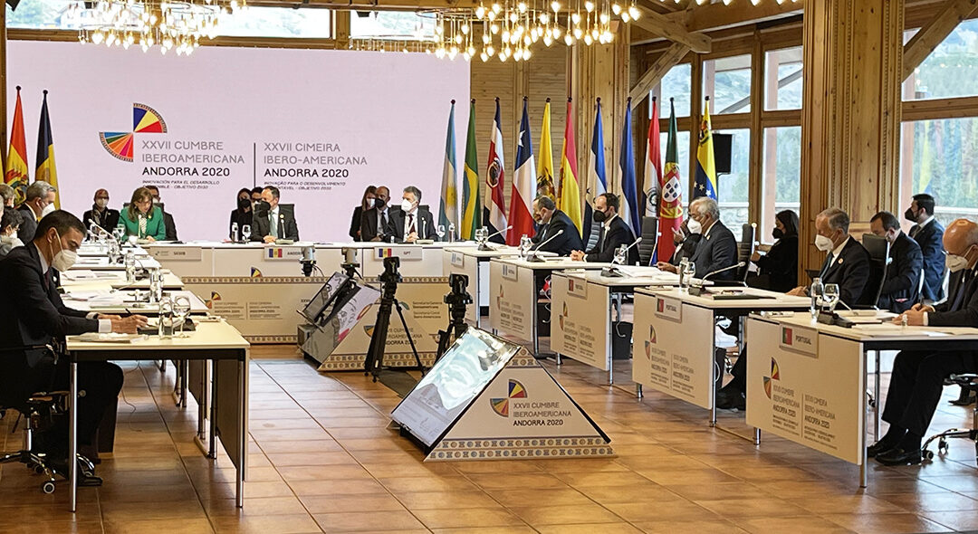 39 máximos responsables de organismos internacionales, instituciones y gobiernos de todo el mundo manifestaron su apoyo a la Cumbre Iberoamericana