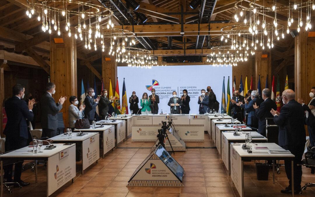 Diálogo, propuestas para la recuperación post-pandemia: el excepcional legado de la XXVII Cumbre Iberoamericana