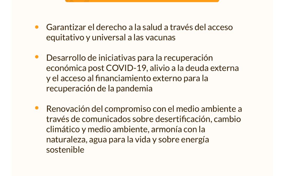 El dato: resultados de la XXVII Cumbre Iberoamericana