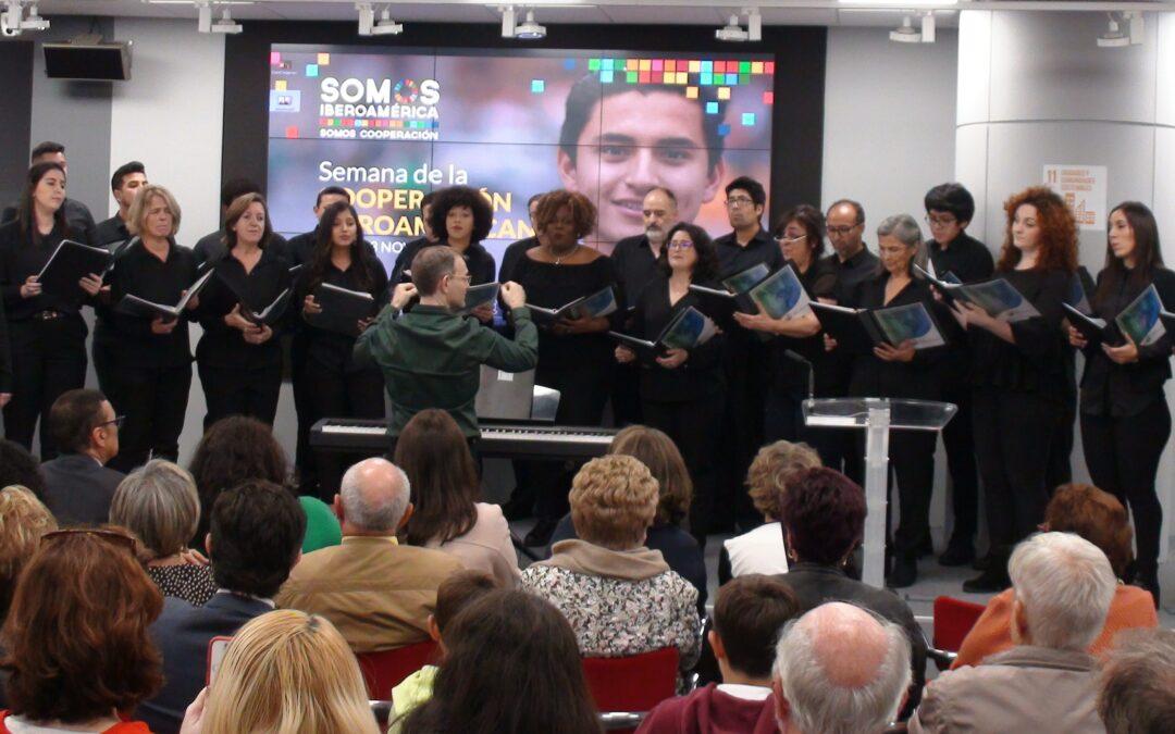 Coro Iberoamericano de Madrid. Cuando la diversidad se convierte en música