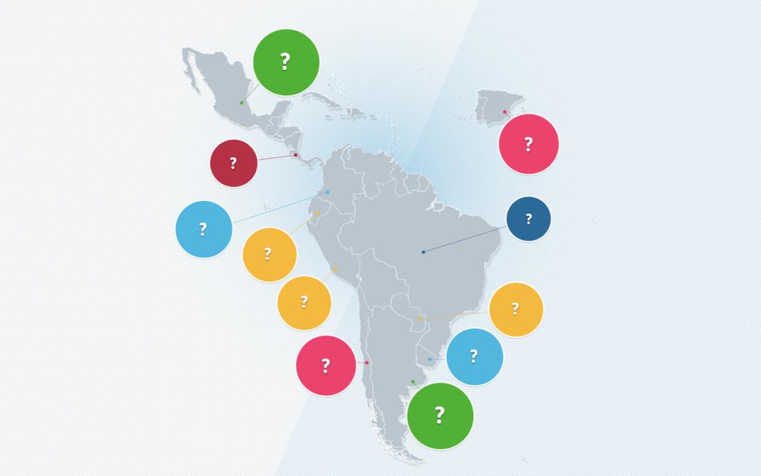 Así participan los países en la cooperación iberoamericana